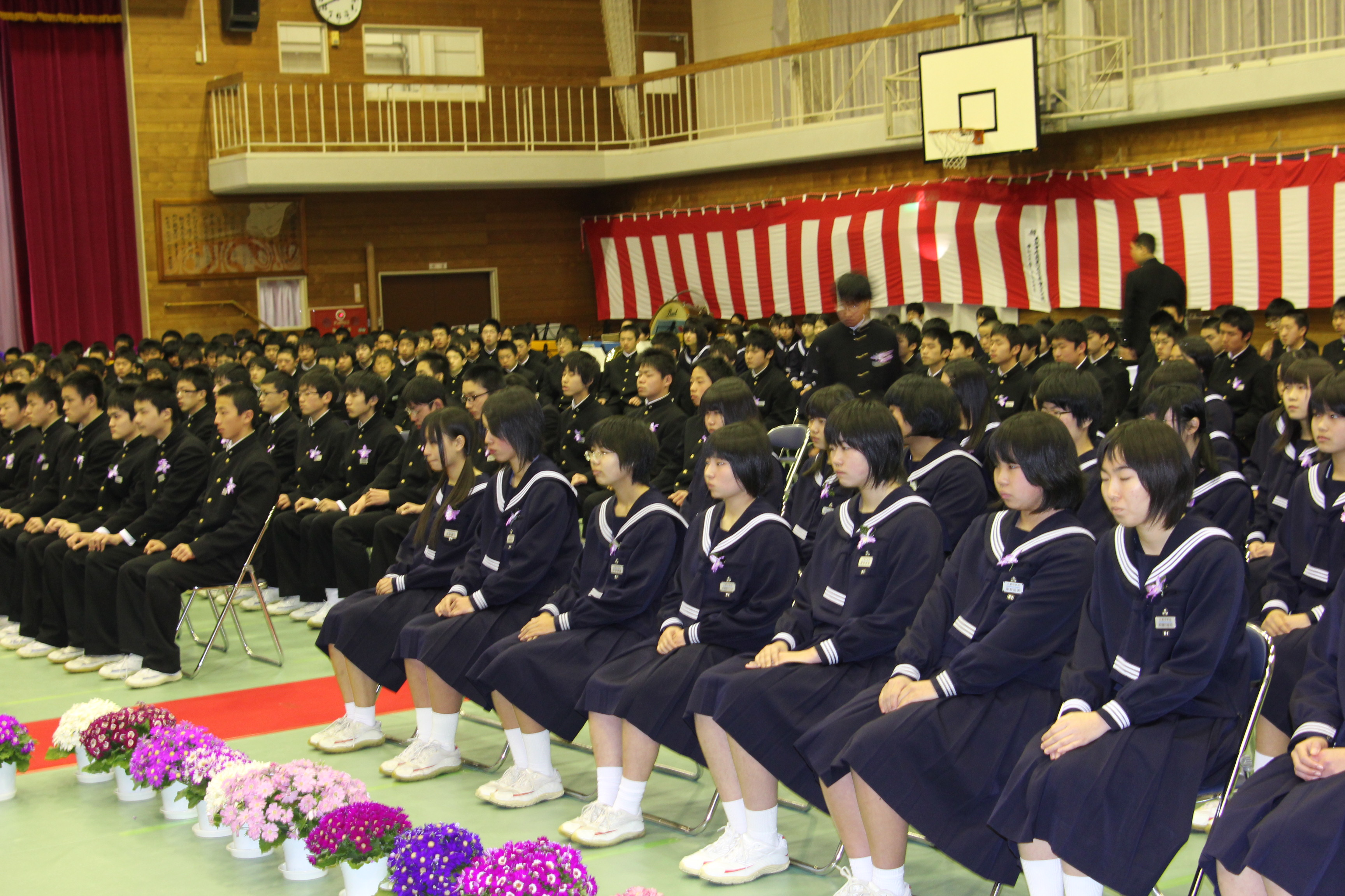 卒業 式 中学校 卒業式はご主人も出席されますか?